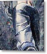 Male Figure Metal Print