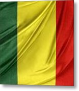 Mali Flag Metal Print