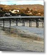 Malibu Beach California Metal Print