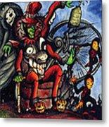 Malinda Circus Metal Print