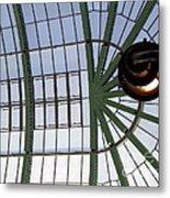 Mall Of Emirates Skylight Metal Print