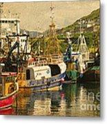 Mallaig Harbourside  Metal Print