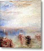 Turner's Approach To Venice Metal Print