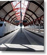 Malmo Central Station Metal Print