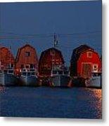 Malpeque Harbor After Sunset Metal Print