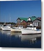 Malpeque Harbor Early Evening Metal Print