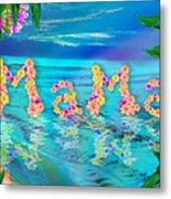 Mama Ocean Metal Print