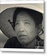 Mama San Pleiku Central Highlands Vietnam 1968 Metal Print