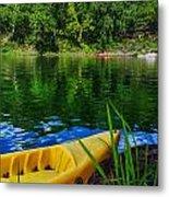 Mambu Canoe Metal Print