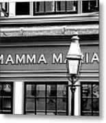 Mamma Mia Metal Print