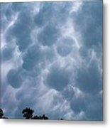 Mammatus Clouds Metal Print by Candice Trimble