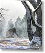 Mammoth In The Distance Metal Print