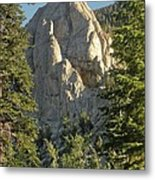 Mammoth Rock Metal Print