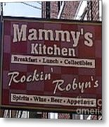 Mammy's Kitchen In Bardstown Kentucky Metal Print