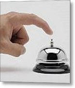 Man About To Ring A Bell Metal Print