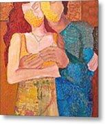 Man And Woman Metal Print