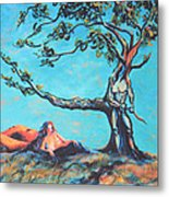 Man And Woman Of The Earth Metal Print