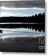 Man Fly Fishing Metal Print