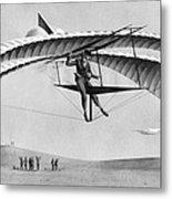 Man Gliding In 1883 Metal Print