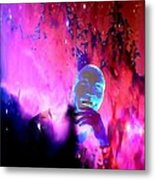 Man In Space Pondering Thoughts Metal Print