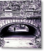 Man Under The Bridge Metal Print