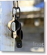 Manacles At The Old Fort Metal Print