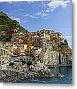 Manarola Italy Dsc02563  Metal Print