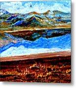 Manas Sarovr Lake-14 Metal Print
