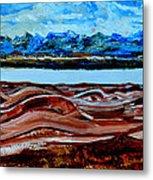Manas Sarovr Lake-19 Metal Print