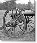 Manassas Battlefield Cannon Metal Print