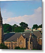 Manayunk - Saint John The Baptist Church Metal Print