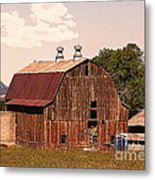 Mancos Colorado Barn Metal Print