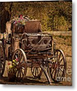Mancos Flower Wagon Metal Print