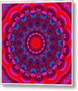 Mandala Dawn Metal Print