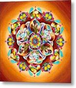 Mandala For Moms Metal Print