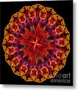 Mandala Of Love Metal Print