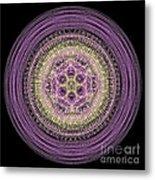 Mandala Of Wisdom Metal Print