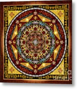 Mandala Oriental Bliss Sp Metal Print