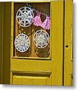 Mandalas Door Metal Print