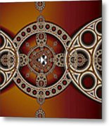 Mandelbrot And Steiner Chains Metal Print