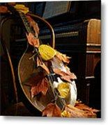 Mandolin Autumn 2 Metal Print