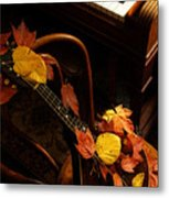 Mandolin Autumn 5 Metal Print