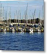 Mandarin Park Boats On Julington Creek Metal Print
