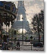 Manege Parisienne Metal Print