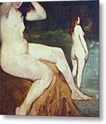 Manet, �douard 1832-1883. Bathers Metal Print