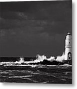 Mangiabarche's Lighthouse Metal Print