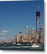 Manhattan Battery Park Skyline Metal Print
