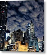 Manhattan Bound Version A Metal Print