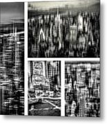 Manhattan Collection II Metal Print