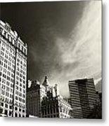 Manhattan Contrast Metal Print
